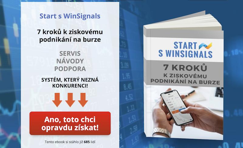 Start sWinSignals - 7 kroků kziskovému podnikání naburze