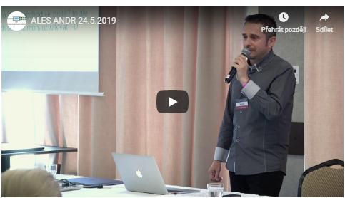 Přednáška Aleše Andra v rámci workshopu Podnikáme na burze chytře a ziskově z května 2019.