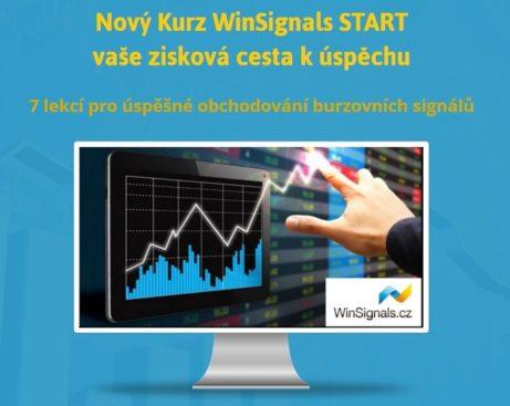 Nový kurz WinSignalsSTART - vaše zisková cesta kúspěchu, aneb 7 lekcí pro úspěšné obchodování burzovních signálů